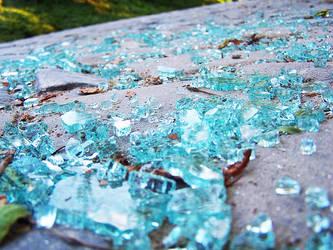 Broken Glass by PlaguedShadow