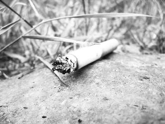 Cigarette by PlaguedShadow