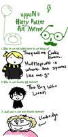 Harry Potter meme by cookiekhaleesi