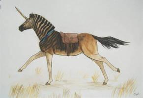 Unicorn Messenger by CatSalinas