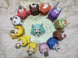 Paper Craft by YellowHaruka