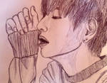 V- sketch by YellowHaruka