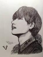 Kim Taehyung- V by YellowHaruka
