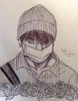 Jeon Jungkook- sketch by YellowHaruka
