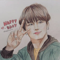 Min Yoongi- Happy Birthday 09032017 by YellowHaruka