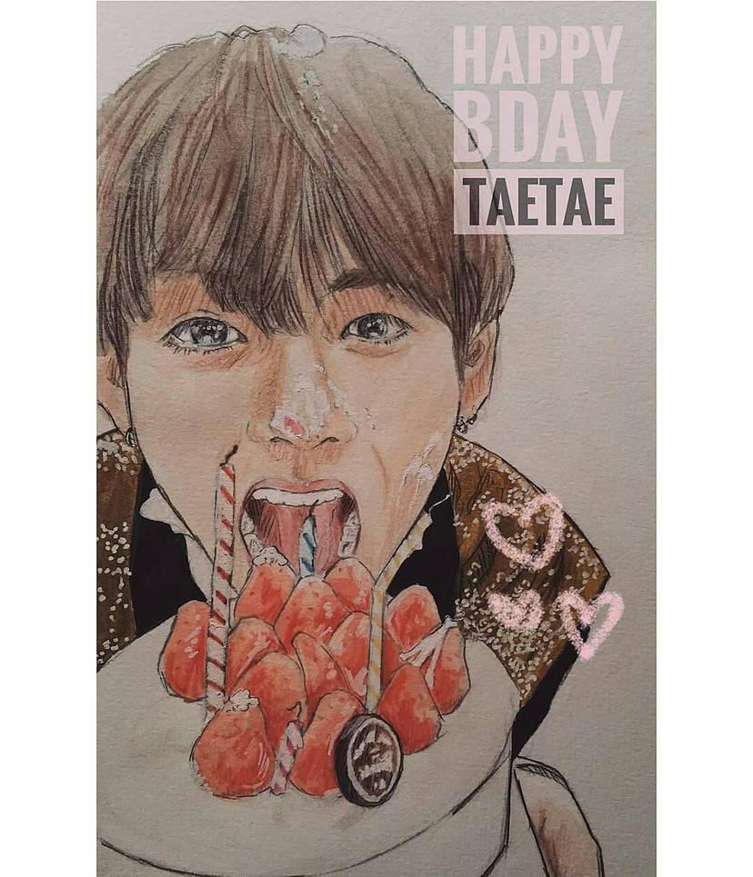 Happy Birthday TaeTae~ by YellowHaruka
