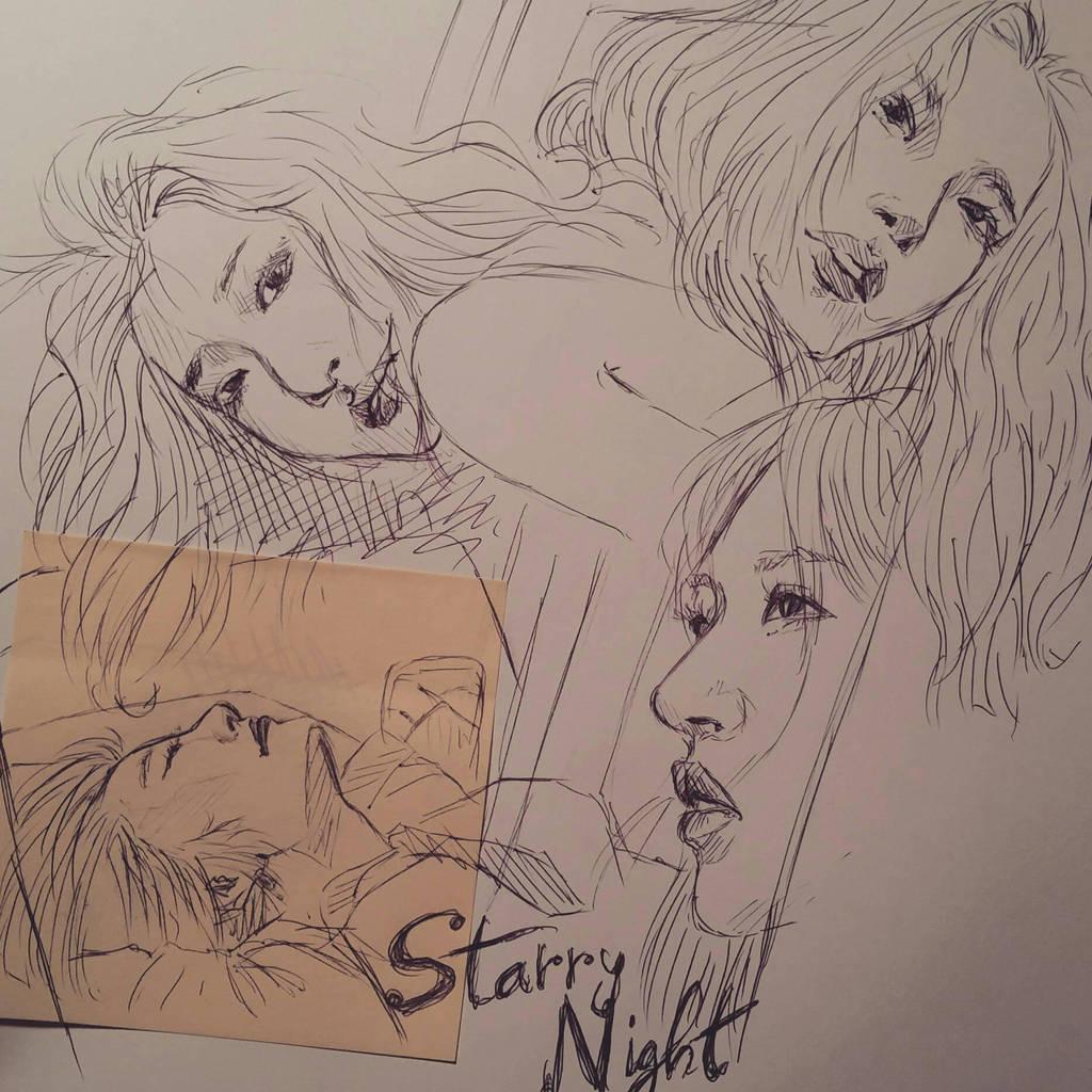 Starry Night by YellowHaruka