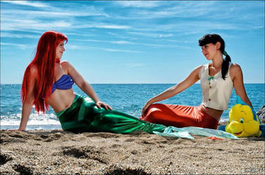 Melody and Ariel by Biseuse