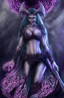 Valgara - The first Temptress by Damjan-Gjorgievski