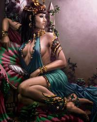 Queen of Spades by Damjan-Gjorgievski