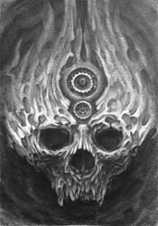 Skull by Damjan-Gjorgievski