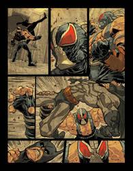 Batman vs Bane pg3 by scabrouspencil
