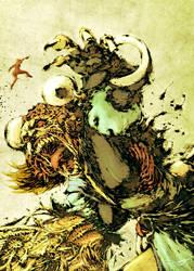Pepper VS Horror Wanda by scabrouspencil