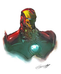 Ironman by scabrouspencil