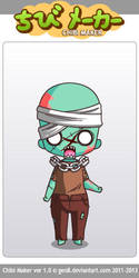 Chibi Zumbi - Sobrevivendo - Junior Pokety by Juniorpokety
