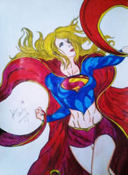 Supergirl by Juniorpokety