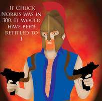 If Chuck Norris by Mirianna16