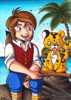 Treasure Island - Jim Hawkins by Yamatoking
