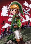 The Legend of Zelda - Link by Yamatoking