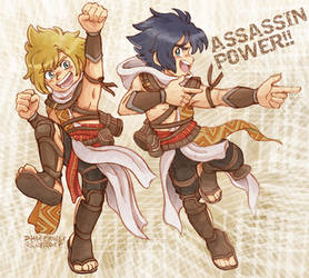 FFXV Assassin Power by Yamatoking