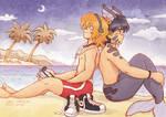 Walkman Friends by Yamatoking