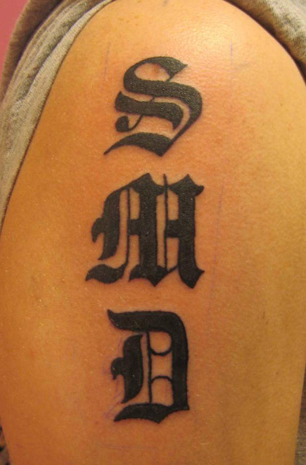 Initials Tattoo By Msiisjesus On Deviantart