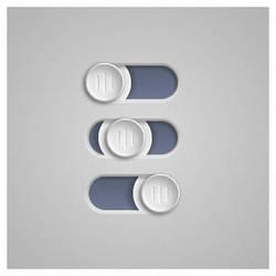 Slider button by Balling
