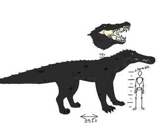 Crocodilewolf Color by homeskillie-biscut