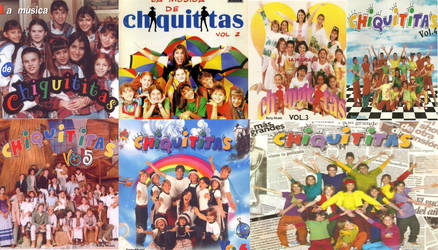 Chiquititas Completo Volume 1995 to 2001 by PhantomBlackDogs