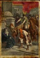 The Gauls in Rome by Jaganshye