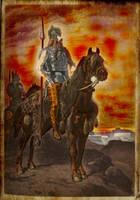 Mounted Gauls by Jaganshye