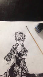 kirito by luiisdeviant