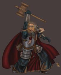 Warrior Priest of Sigmar by jaybob