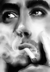 Robert Downey Jr by emisnowake