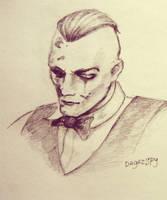 Eddie Sketch 02 by MyLittleLoki