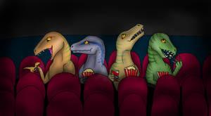 Velociraptors by Luna621Lt