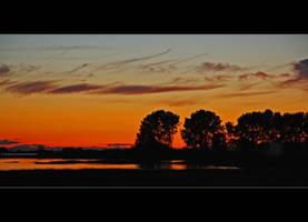 Red Skies at Night by Val-Faustino