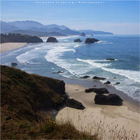 View from Ecola by Val-Faustino