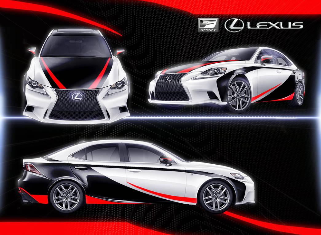 Lexus IS by Wonderwig
