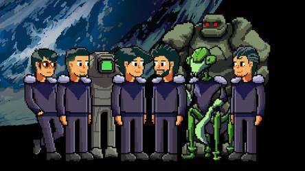 The Kestrel Crew by Wonderwig