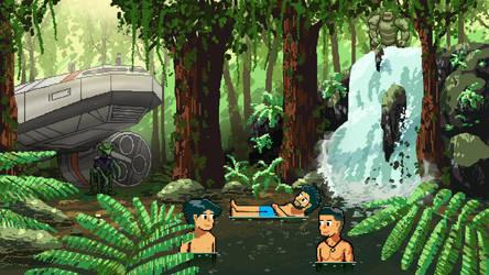 Waterfall Dip by Wonderwig