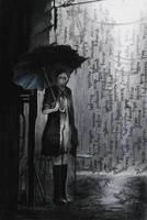 Under the rain of words. by HayleyLV