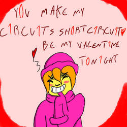 Grena valentines card by Victor-artist