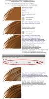 hair tutorial on corel Draw X3 by Alzir