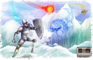 wizard and warriors by bryanzurc