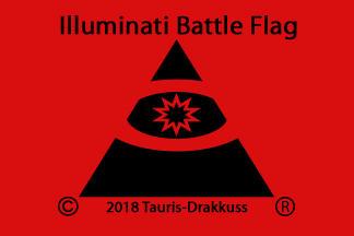 Illuminati Battle Flag by Tauris-Drakkuss