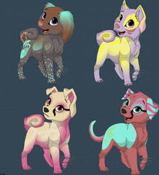 Adoptables Auction 1 point by sparkly-blonde