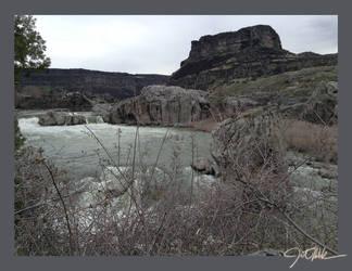 Shoshone Falls by JetMalek