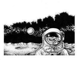 Astronaut by youngmoons