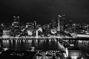 Downtown Lights 12336 by kreativEVOLUTION